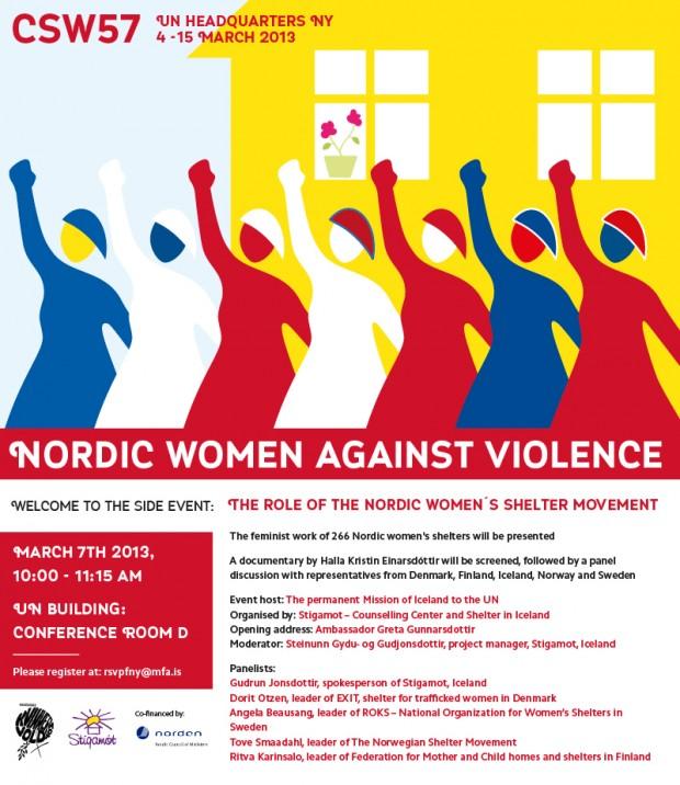 CSW57_NY_NordicWomenAgainstViolence
