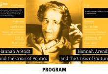 Hannah Arendt Conference Program