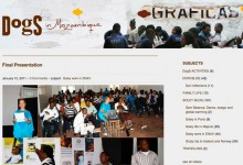 Blog site about my stay in Mozambique teaching graphic design