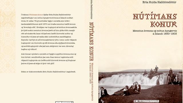 Nútímans konur / Modern women. Book Cover